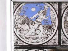 One of the tiles from John Moyr Smith's 'Idylls of the King' series.