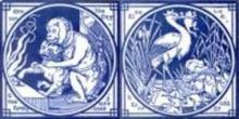 'Aesop's Fables' series by John Moyr Smith for Minton's