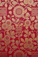 Wentworth wallpaper c 1880 from Charles Rupert Designs