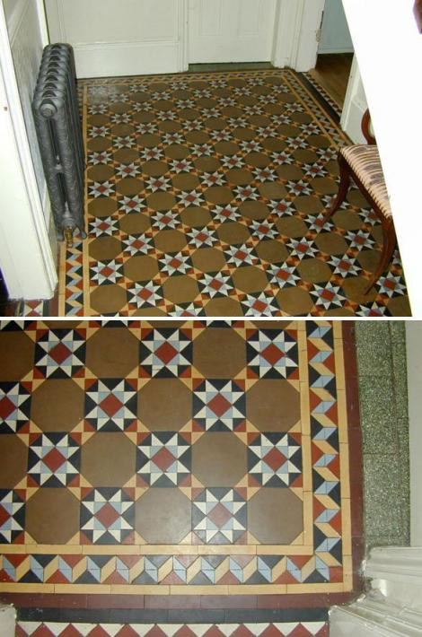 Victorian Decorative Tile Flooring Geometric Tiled Floors Part 2 Old House Living
