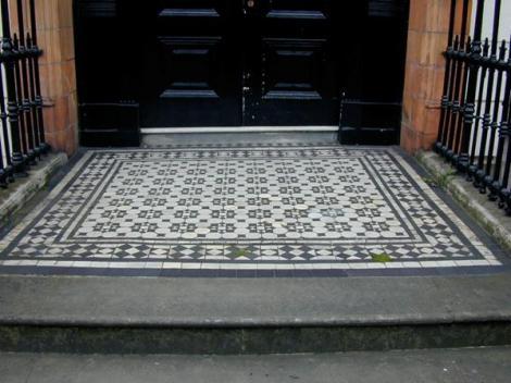 Victorian Decorative Tile Flooring Geometric Tiled