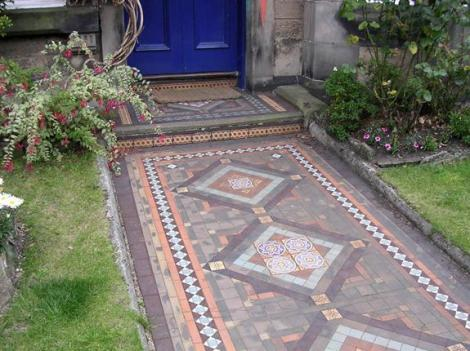 Victorian Decorative Tile Flooring Encaustic Tiles Part 3 Old